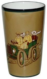 Uncommon Villeroy & Boch Folks in Early Car Beaker