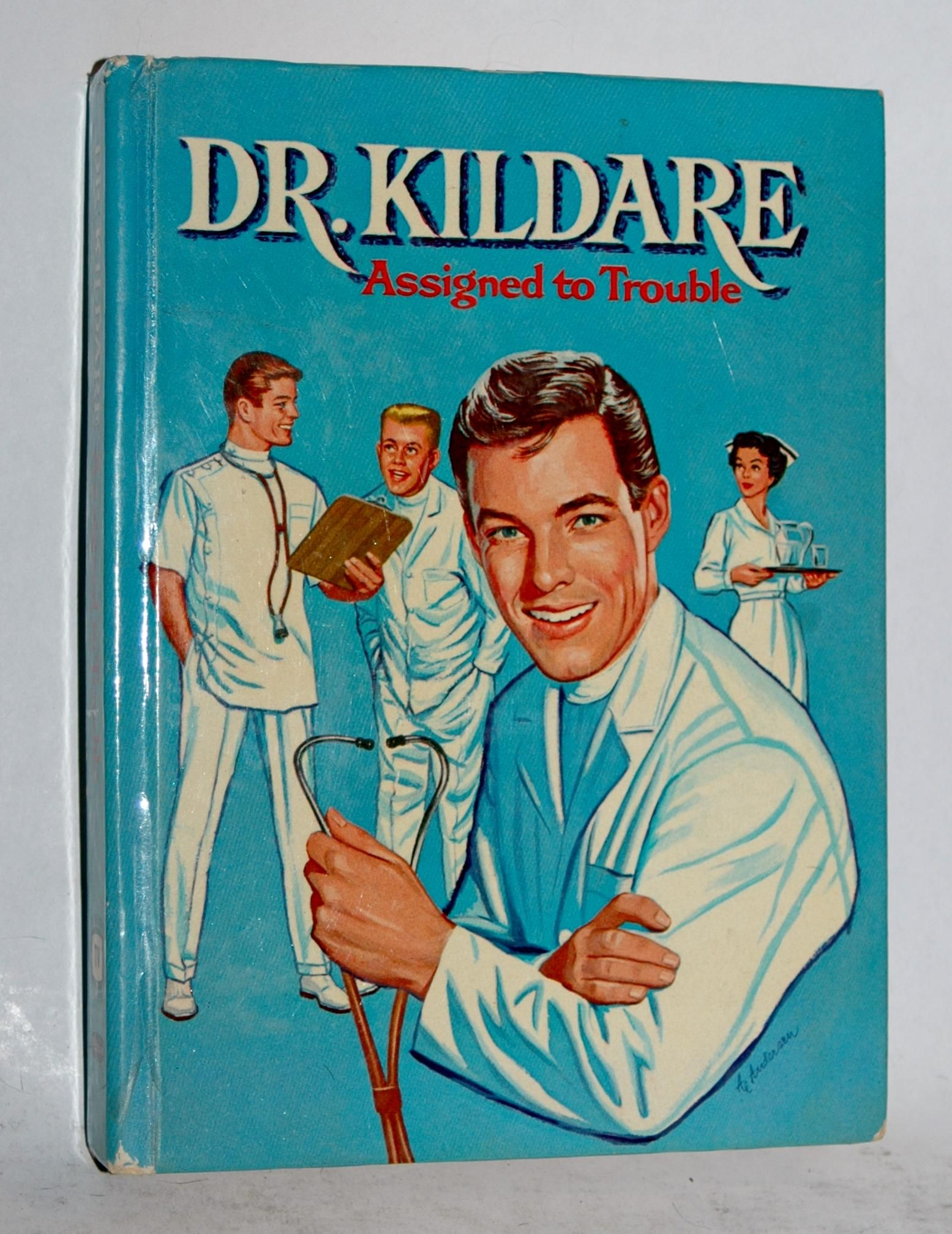 1963 Dr Kildare Authorized Whitman 212 Page Book