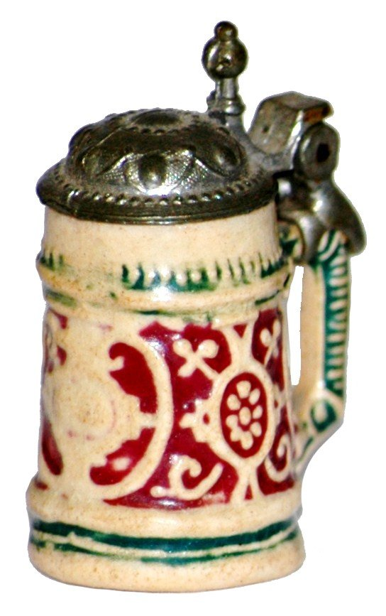 2: Pottery Relief Miniature Stein