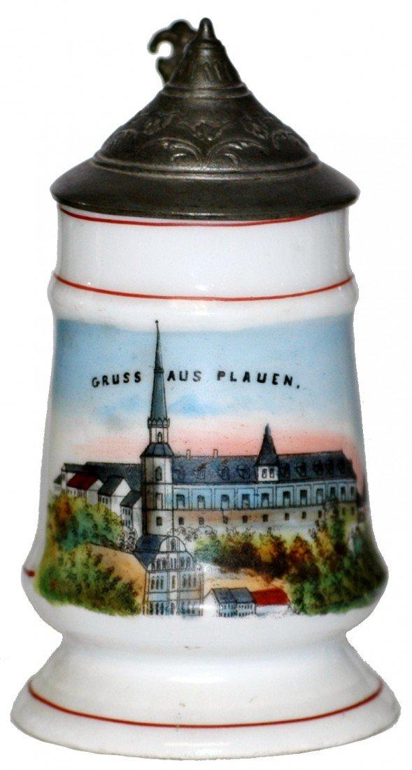 9: Porcelain POG Miniature Souvenir  Stein