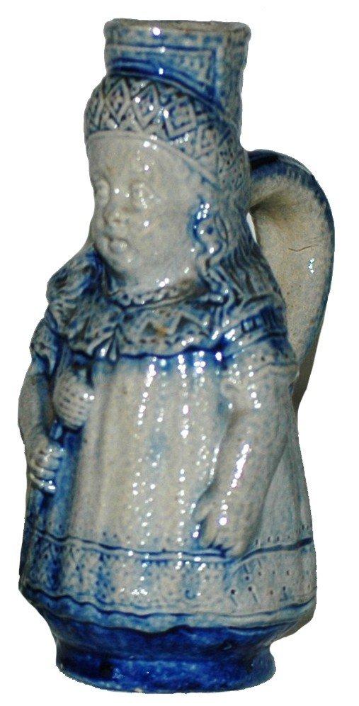 11: Stoneware Character Miniature Stein