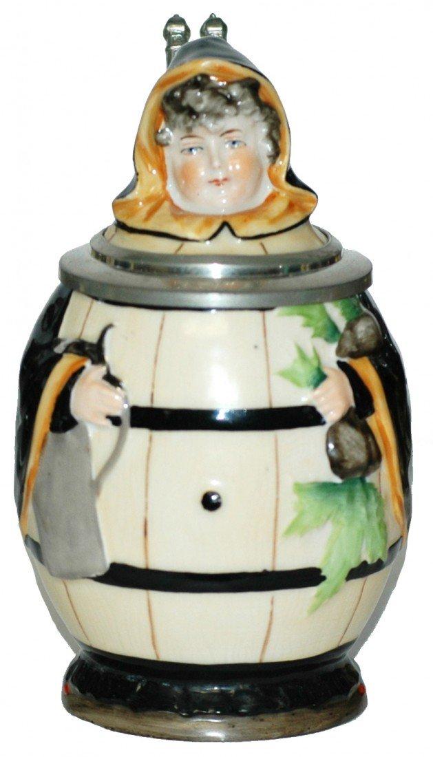 13: Porcelain Character Munich Child Stein -Bohne