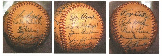 500: RAREST SIGNED Game Ball in  BASEBALL HISTORY