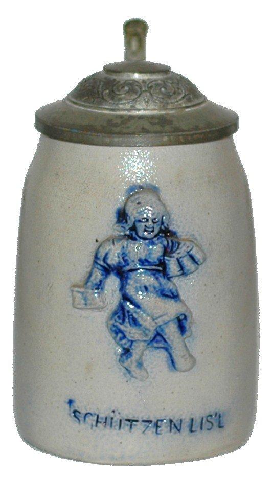 15: Schutenlisl Stoneware Miniature Stein