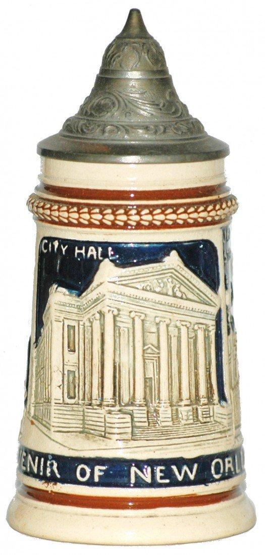 16: New Orleans Souvenir Miniature Stein