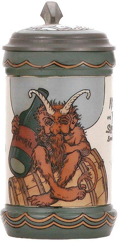 158: Mettlach Troll #3093 Stein