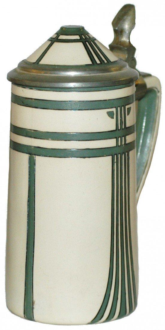 176: Art Nouveau Mettlach Stein