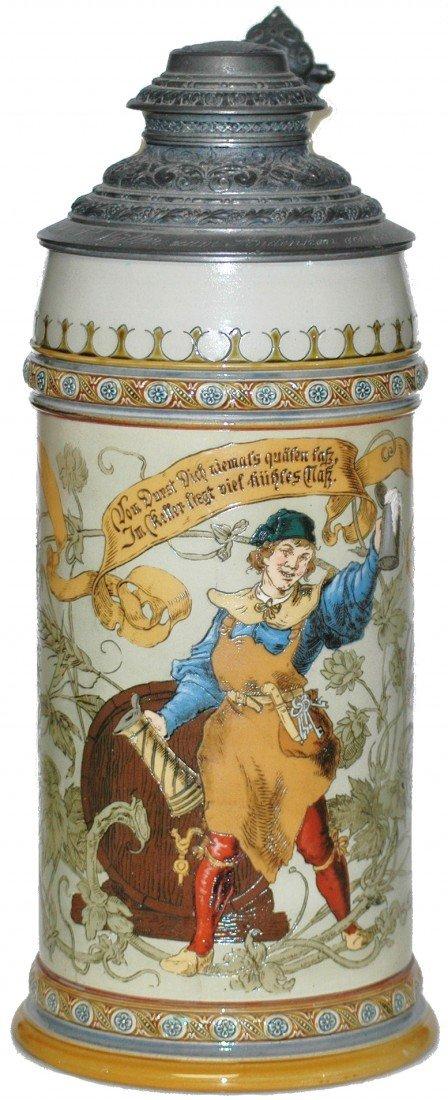 179: Three Liter Mettlach Stein