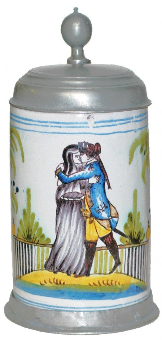 204: Magdeburg Faience 1780 Stein