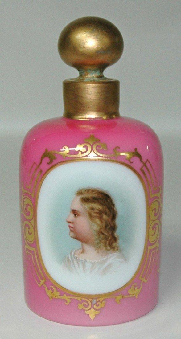 9: Enamel Overlay Glass Perfume