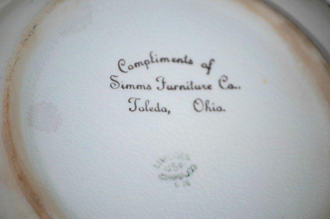 208: Rare Felix the Cat Baby Dish 1920s - 2