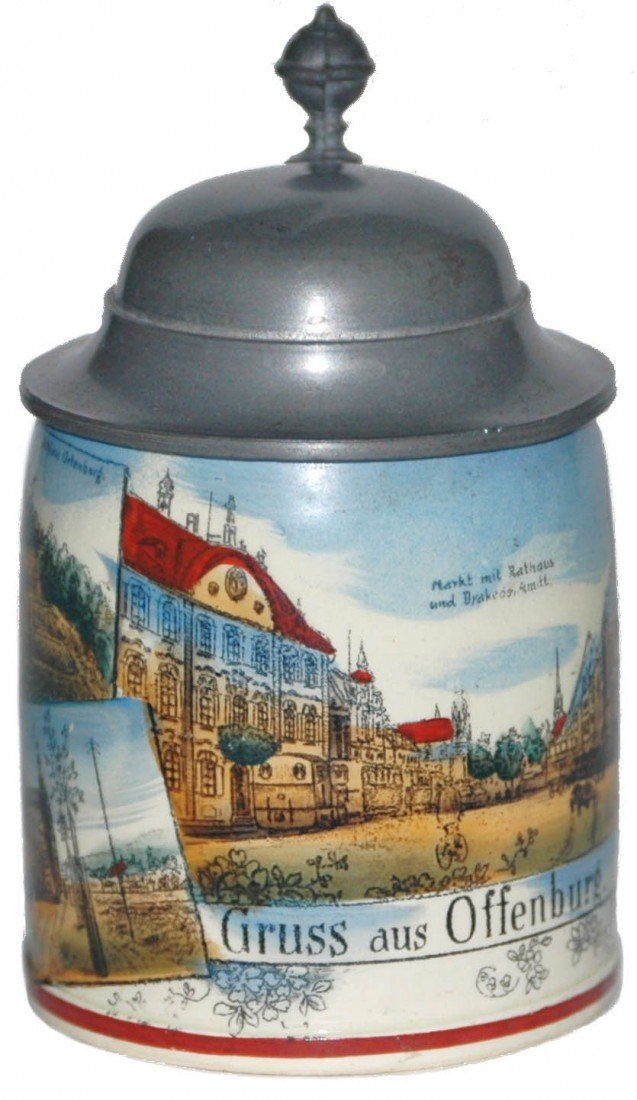 9: Pottery Souvenir Mini Stein