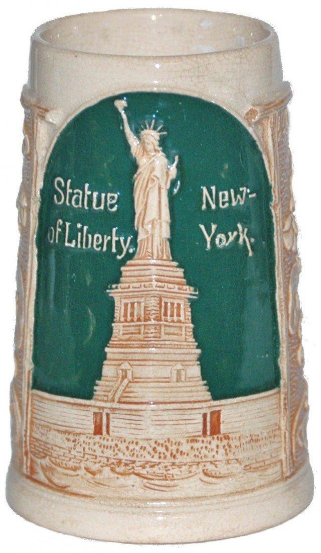 16: Statue of Liberty, New York Pottery Mug