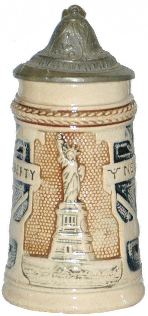 1: Mini Statue of Liberty Souvenir Stein