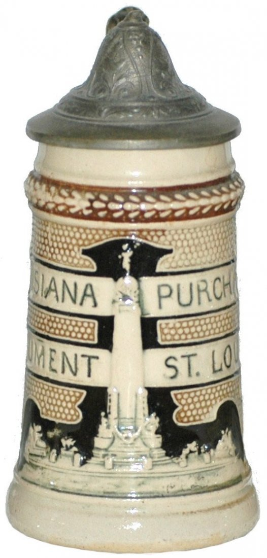 2: Mini Louisiana Purchase St Louis Stein