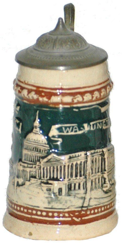 4: Mini 1/16 L. Washington DC Stein