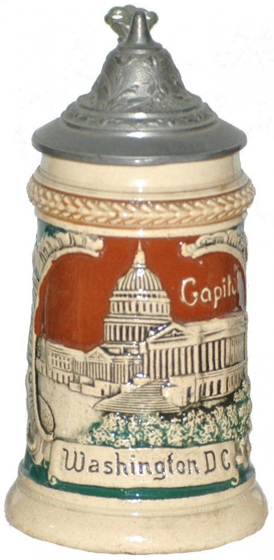 5: Miniature Washington DC Stein