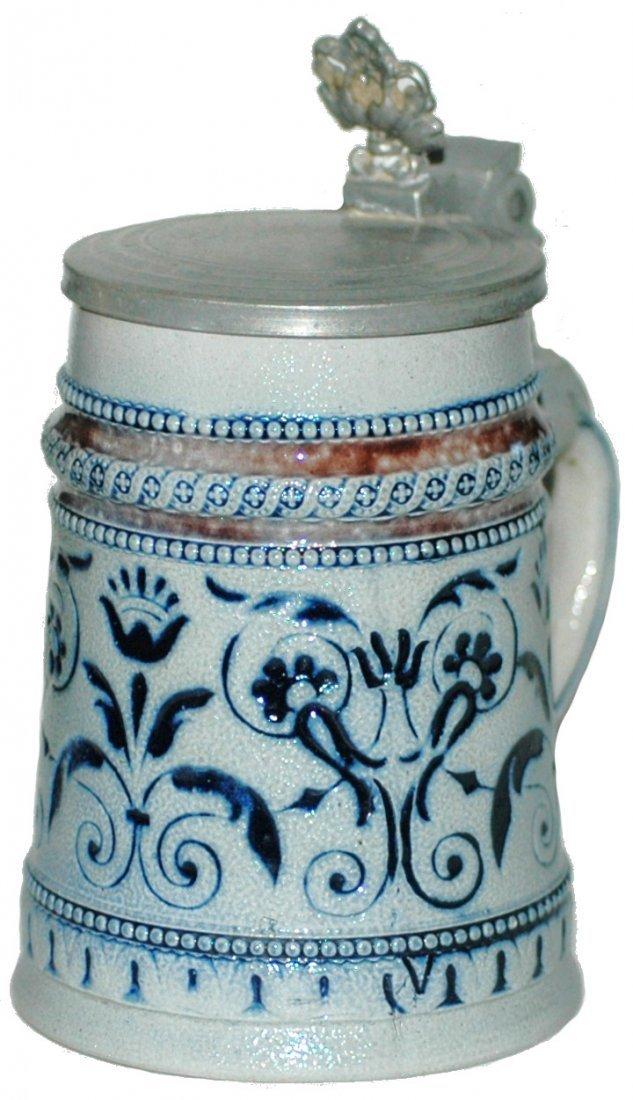 12: Regensburg Stoneware 1/4 L Stein