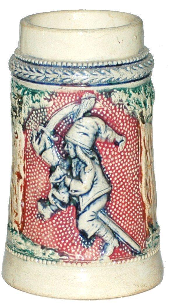 14: Diesinger 1/8 L. Mini  Pottery Stein