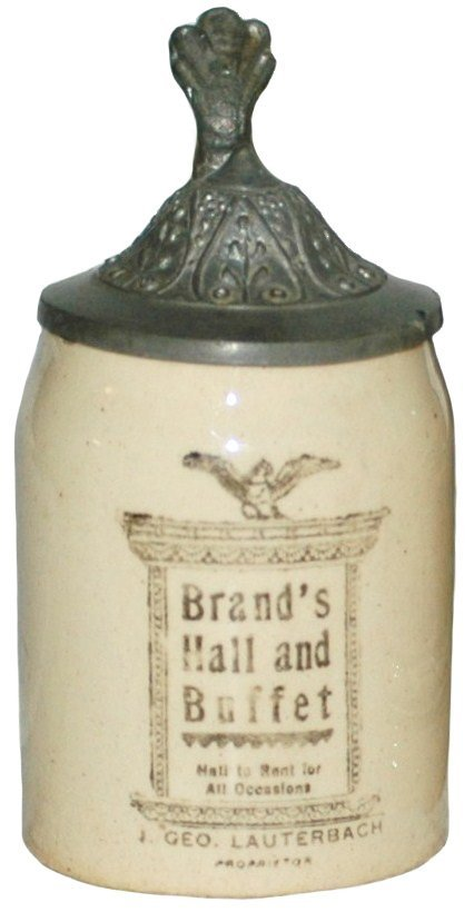17: Mini Advertising Stein Brand's Hall Stein