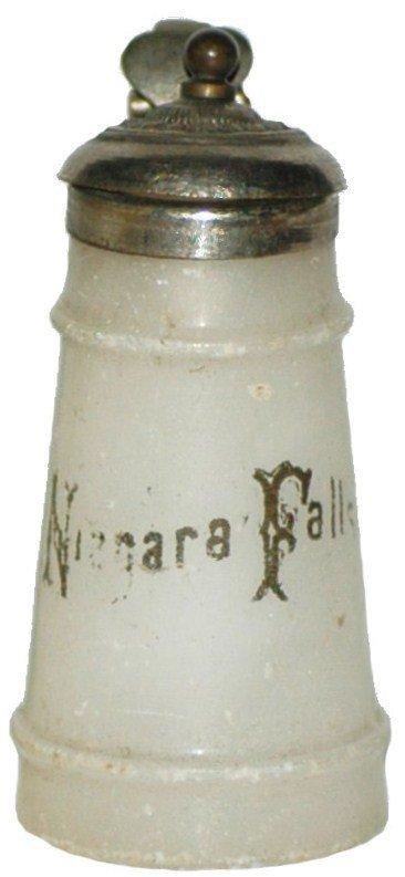 20: Alabaster Souvenir Stein Niagara Falls