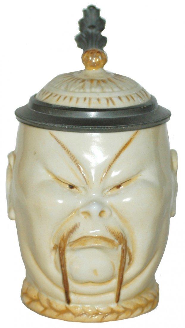 278: Schierholz Porcelain Chinaman Stein