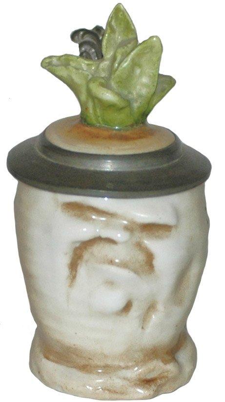 23: Schierholz Porcelain Sad Radish Rare Tiny Size