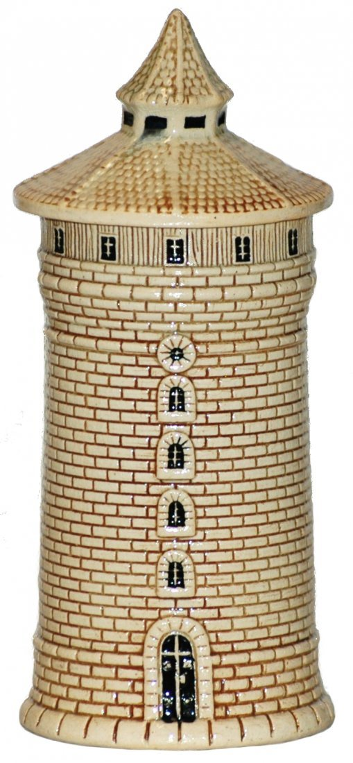 7: 1/8L Nurnberg Tower Character Stein