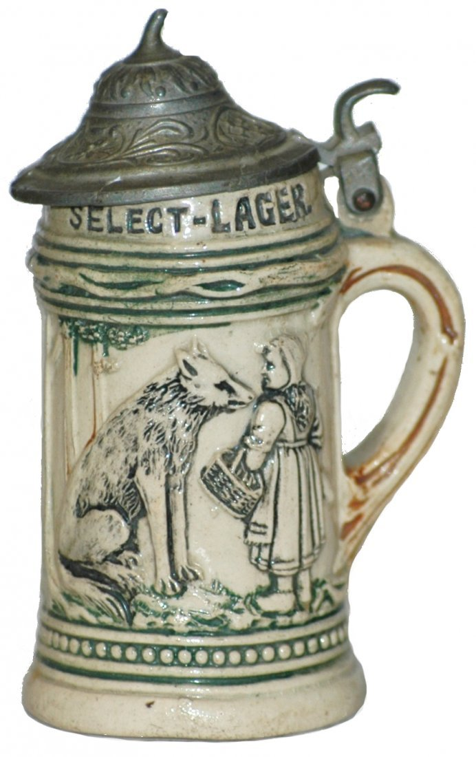 22: Red Riding Hood Advertising Mini Stein
