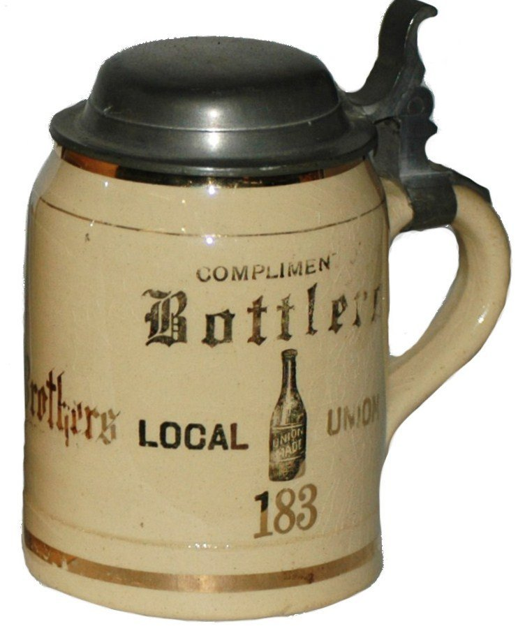 459: Brewery Bottlers Union 183 Stein