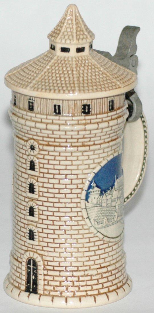 Mini 1/8 L. Nurnberg Tower Character  Stein