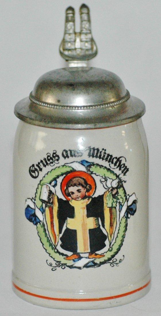 Munich Child Stoneware Miniature Stein