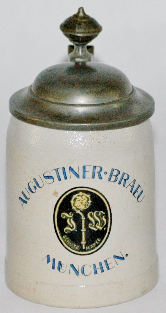 Augustinerbrau Stoneware Mini Stein
