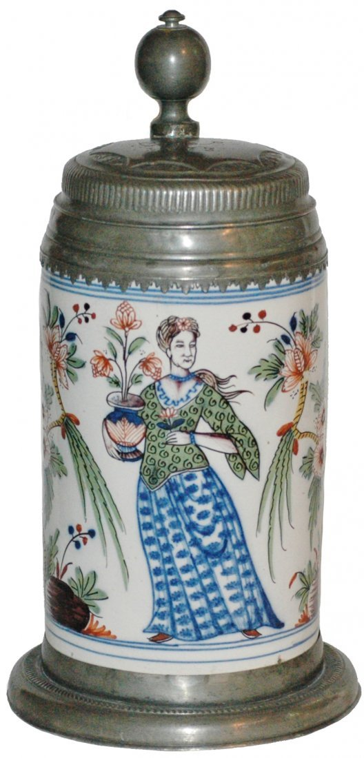 C. 1730 Dorotheenthal Faience Stein