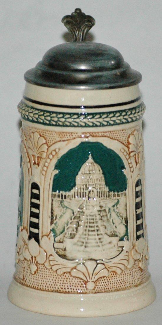 St. Louis 1904 Expo. Festival Hall Miniature Stein