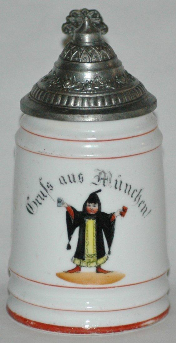 Munich Child Miniature POG Stein