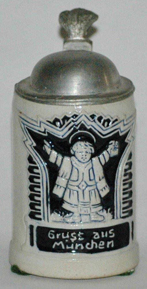 Stoneware Munich Child 1/16L Stein