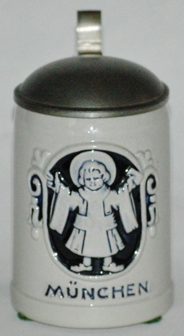 Munich Child Stoneware 1/8L Stein