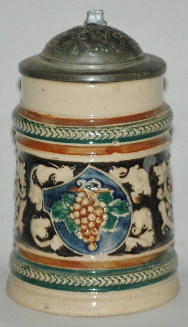 Floral Dumler & Breiden Relief 1/8L Stein