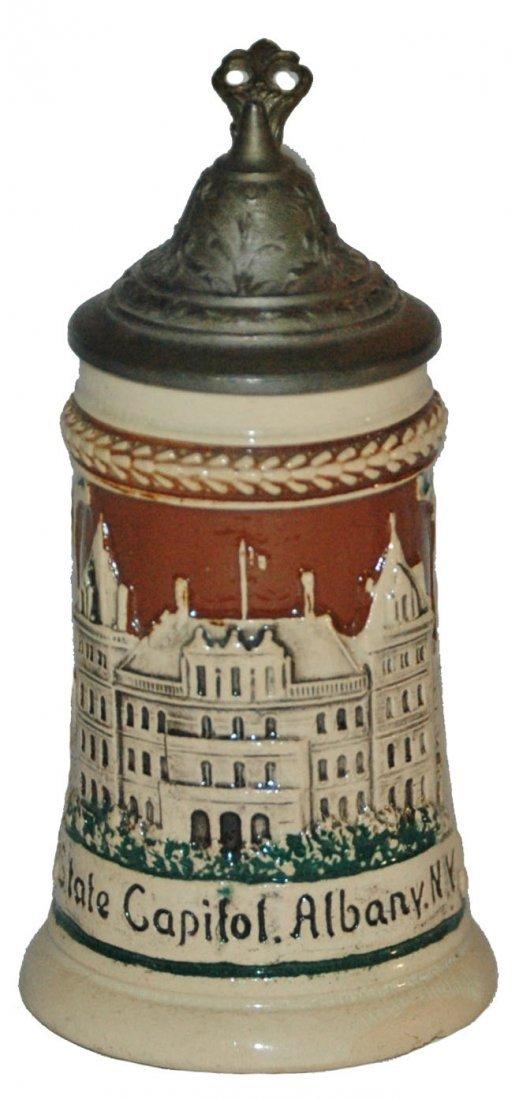 1/8 L Mini Souvenir Stein Albany NY