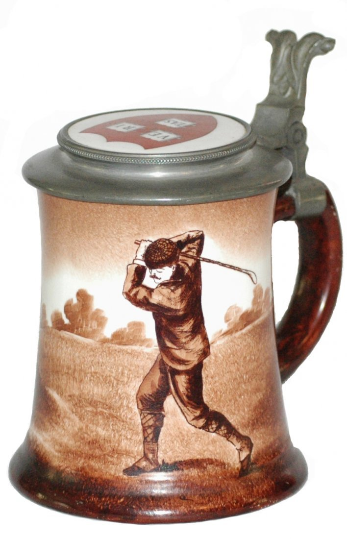 Golfer O'Hara Dial Stein w University Inlay