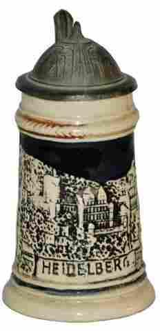 """Heidelberg Miniature 3-1/4"""" Stein"""
