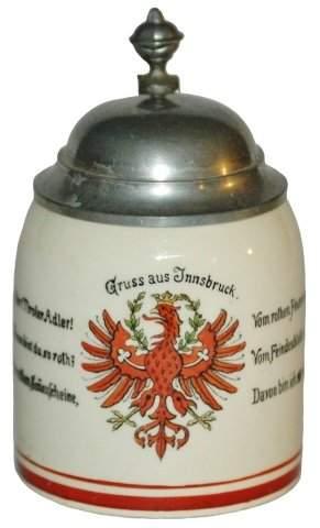 Innsbruck Austria Souvenir 1/16 L. Mini Stein
