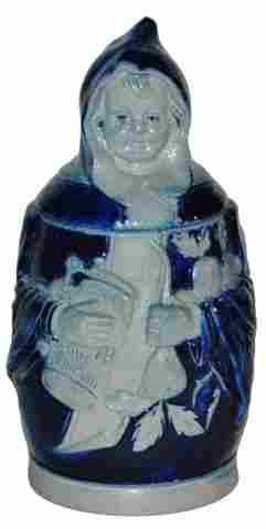 Miniature Munich Child 1/8 L. Character Stein