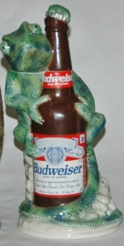 Louie the Lizard Budweiser Character Stein