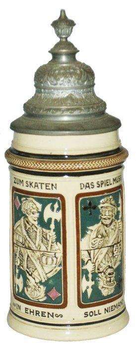 Suites Of Cards Dumler & Breiden 1/2l Stein
