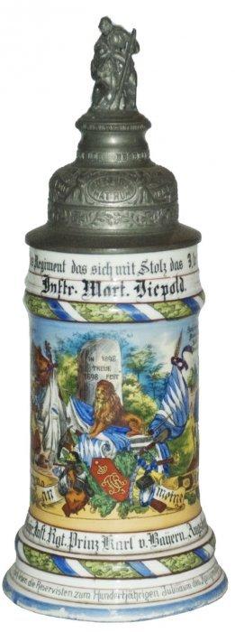 11 Comp 3 Bayr Inft Augsburg Regimental Stein