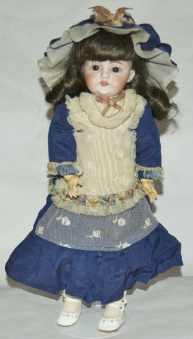 Early Kestner D8 Bisque Head Doll Jointed Compo Body