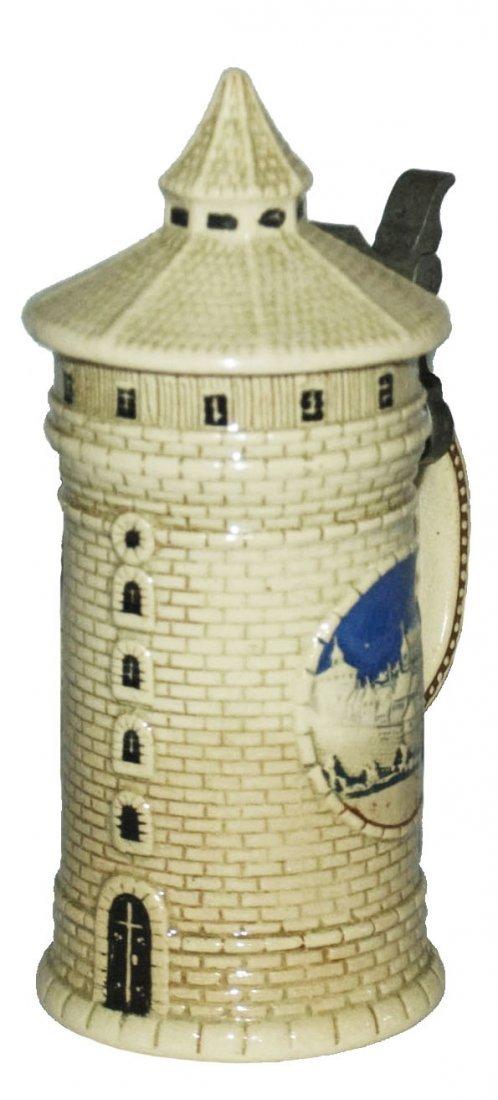 Nurnberg Tower Character Stein 1/8L