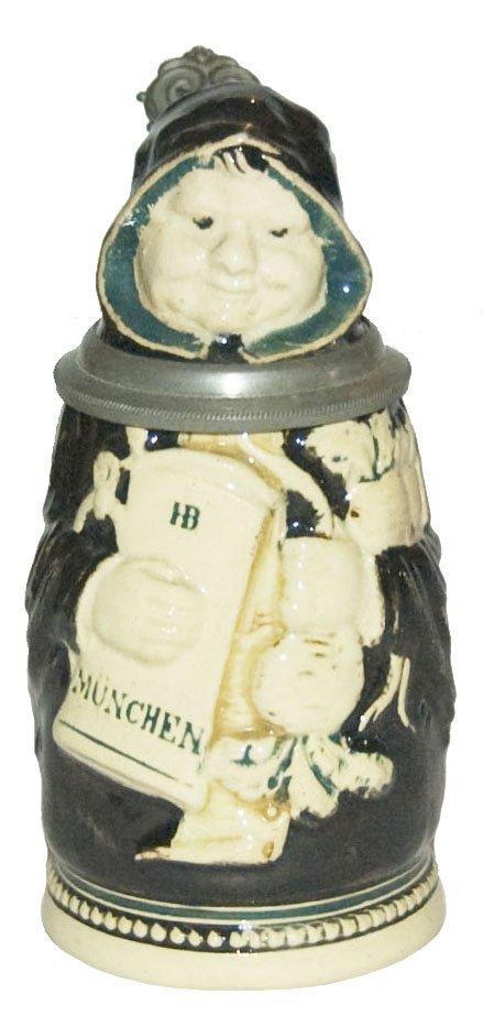 Munich Maid Character Stein 1/16 L by Reinemann